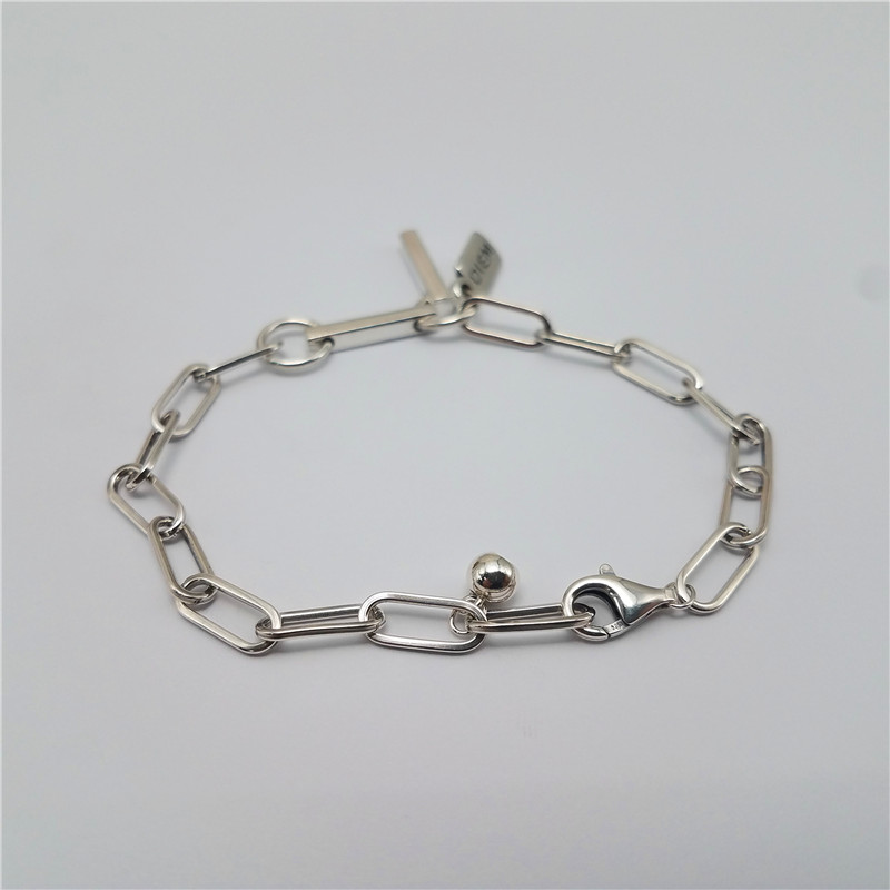 High quality 925 sterling silver new style brass bracelet